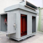 TMC Transformers - 2113kVA 22:0.581-0.581kV Dd0y11 IP43 Outdoor Cast Resin TractionTransformers HV Earting Switch 2