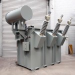 TMC Transformers - 66kV Combined Isolating Transformer and Tuning Reactor For Ripple Control Coupling Cell