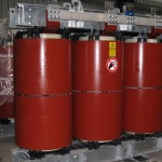 Outdoor Cast Resin TractionTransformers 4000-KVA-30kV-690-V