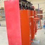 TOutdoor Cast Resin TractionTransformers 1000-KVA-20-KV-420-V-con-GPO3