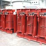 1000kVA, 11000:1050V, Dyn11, AN, IP00 (IP66), Dry type transformer
