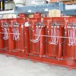 1000kVA, 11000:1050V, Dyn11,AN, IP00 (IP66), Dry type transformer