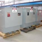 Transformador seco encapsulado 100kVA, 433:120-0-120V, 2 fases, AN,IP56 SS316