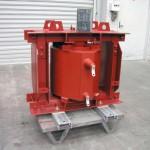 127kVA, 12700:1100V, 1 Phase, AN, IP00, Cast Resin Earthing Transformer
