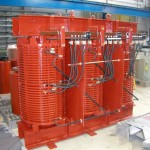 1500kVA, 6600:440V, Dyn1, AN, IP65, Dry Type Transformer