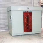 2500:3050kVA, 2400:480V, Dyn11, AN:AF, IP33 Outdoor, Cast Resin Transformer