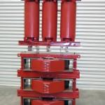 56kVA, 22kV, 450:566V, 317Hz,Cast Resin Isolating Transformer and Tuning Reactors