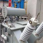 66000:433V,Dyn11, ONAN, Oil Cooled Transformer
