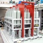 Reactancia metálica protegida/condensador/filtro resistor 8MVAr, 33000V, 3 fases, IP43 (para exterior)